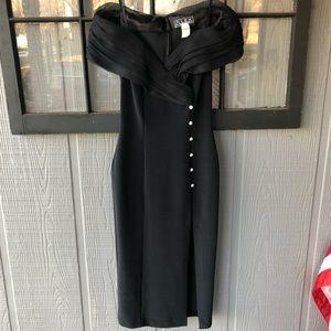 Alex Evenings Formal Off-The-Shoulder Dress